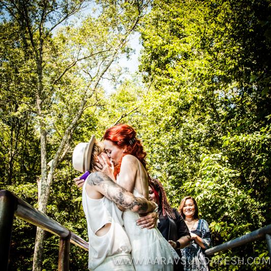 Shalyn and Dayna East Greenwich Wedding